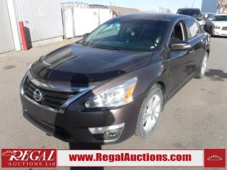 Used 2014 Nissan ALTIMA SL 4D SEDAN AT 2.5L for sale in Calgary, AB