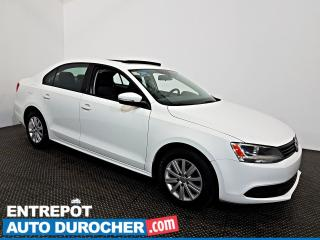 Used 2014 Volkswagen Jetta Sedan Comfortline Toit Ouvrant - A/C - Sièges Chauffants for sale in Laval, QC
