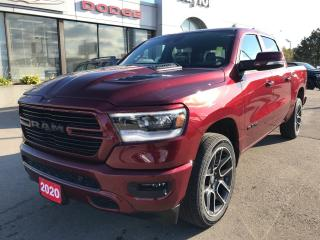Used 2020 RAM 1500 Sport Crew 4x4 V8 for sale in Hamilton, ON