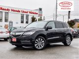 2016 Acura MDX Nav Pkg - Leather - Sunroof - Rear Camera