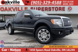 Used 2010 Ford F-150 4WD SUPERCREW | PLATINUM | LEATHER | TONNEAU for sale in Oakville, ON