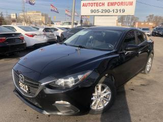 Used 2015 Mazda MAZDA3 GS Convenience Pkg Navigation/Htd Seats/Camera for sale in Mississauga, ON
