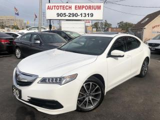 Used 2015 Acura TLX SH-AWD TECH Pkg Navigation/Camera/Leather for sale in Mississauga, ON