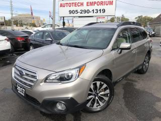 Used 2017 Subaru Outback 3.6R Limited Navigation/Leather/Camera for sale in Mississauga, ON