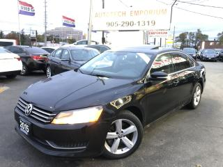 Used 2015 Volkswagen Passat Comfortline Leather/Sunroof/Camera&ABS* for sale in Mississauga, ON