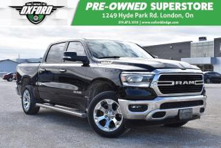 Used 2019 RAM 1500 Bighorn - Demo, Low Kms, Winter Tires i=Included for sale in London, ON