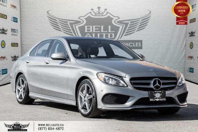 2015 Mercedes-Benz C-Class C 400, NO ACCIDENT, AWD, NAVI, BACK-UP CAM