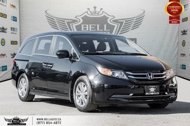 2014 Honda Odyssey EX, 8 PASS, NO ACCIDENT, BACK-UP CAM, BLIND SPOT CAM