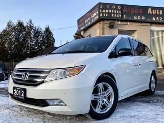 Used 2012 Honda Odyssey Touring w/RES & Navi for sale in Scarborough, ON