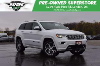Used 2019 Jeep Grand Cherokee Overland - Demo, Very Low Kms, Harmon Kardon Audio for sale in London, ON