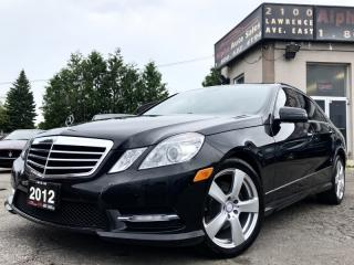 Used 2012 Mercedes-Benz E-Class E300 4MATIC for sale in Scarborough, ON