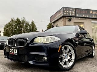 Used 2013 BMW 5 Series 528i xDrive *M-Sport* for sale in Scarborough, ON