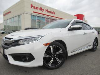 Used 2016 Honda Civic Touring | FREE WARRANTY | HONDA CERTIFIED | for sale in Brampton, ON