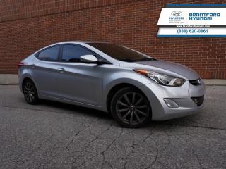 Used 2011 Hyundai Elantra LEATHER | SUNROOF | BLUETOOTH | LIMITED  - $119 B/W for sale in Brantford, ON