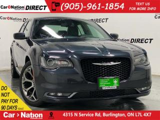 Used 2018 Chrysler 300 300S| LEATHER| BACK UP CAMERA| PUSH START| for sale in Burlington, ON