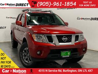 Used 2017 Nissan Frontier PRO-4X| LOCAL TRADE| 4X4| LEATHER| SUNROOF| NAVI| for sale in Burlington, ON