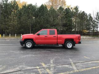Used 2017 Chevrolet Silverado 1500 W/T DBL CAB 4X4 for sale in Cayuga, ON