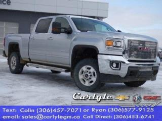 Used 2018 GMC Sierra 2500 HD Crew, Htd. Cloth Buckets for sale in Carlyle, SK