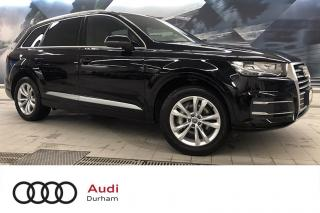 Used 2017 Audi Q7 3.0T Progressiv + CarPlay | 7 Seats | 360 Cam for sale in Whitby, ON