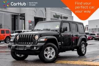 New 2020 Jeep Wrangler Unlimited SPORT|Single.Top.Custmr.Preferd.SafetyTec.Pkgs|Backup_Cam| for sale in Thornhill, ON