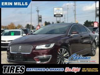 Used 2017 Lincoln MKZ Reserve Navi|Revel Sound|Massage Seats|Pano Roof| for sale in Mississauga, ON