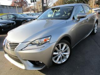 Used 2015 Lexus IS 250 IS 250 |ONE OWNER|54,000KM|LEATHER|HEATED SEATS for sale in Burlington, ON