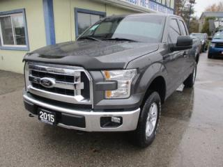 Used 2015 Ford F-150 WORK READY XLT EDITION 6 PASSENGER 5.0L - V8.. 4X4.. EXTENDED-CAB.. SHORTY.. SYNC TECHNOLOGY.. BLUETOOTH SYSTEM.. KEYLESS ENTRY.. for sale in Bradford, ON