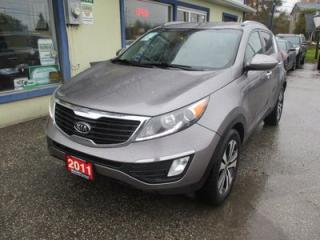 Used 2011 Kia Sportage GAS SAVING EX EDITION 5 PASSENGER 2.4L - DOHC.. CD/AUX/USB INPUT.. BLUETOOTH SYSTEM.. KEYLESS ENTRY.. for sale in Bradford, ON