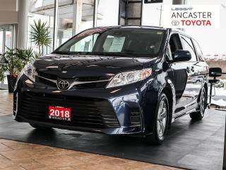 Used 2018 Toyota Sienna LE - BLUETOOTH|HEATED SEATS|BACKUP CAMERA for sale in Ancaster, ON