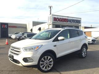 Used 2017 Ford Escape TITANIUM 4WD - NAVI - PANO ROOF - LEATHER for sale in Oakville, ON
