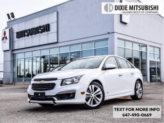 Used 2016 Chevrolet Cruze LOW KMS for sale in Mississauga, ON