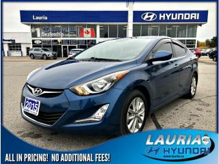 Used 2015 Hyundai Elantra GL Sport Appearance - Low kms! for sale in Port Hope, ON