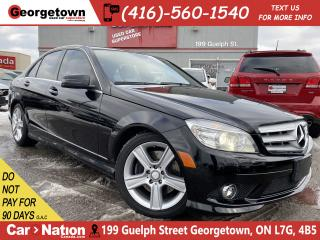 Used 2010 Mercedes-Benz C-Class C300 | 4MATIC | NAVI | SUNROOF | HARMAN/KARDON for sale in Georgetown, ON