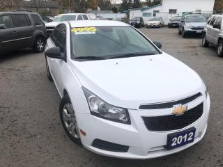 Used 2012 Chevrolet Cruze LS for sale in St Catharines, ON