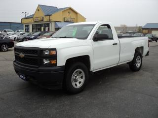 Used 2014 Chevrolet Silverado 1500 WT 4.3L RegCab 4x4 8ft Box for sale in Brantford, ON