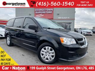 Used 2015 Dodge Grand Caravan DUAL CLIMATE | ECO MODE | STOW N GO | for sale in Georgetown, ON