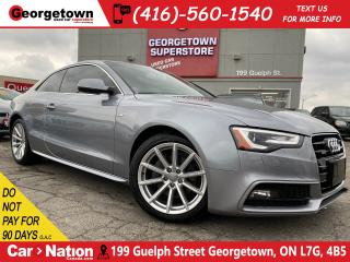 Used 2016 Audi A5 Progressiv plus | S - Line | NAVI | CAM | AWD|ROOF for sale in Georgetown, ON