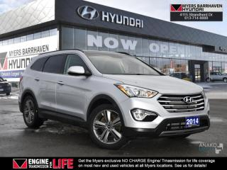 Used 2014 Hyundai Santa Fe XL LIMITED  - Sunroof -  Navigation - $159 B/W for sale in Nepean, ON