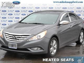 Used 2012 Hyundai Sonata Limited  - Sunroof -  Leather Seats for sale in Welland, ON