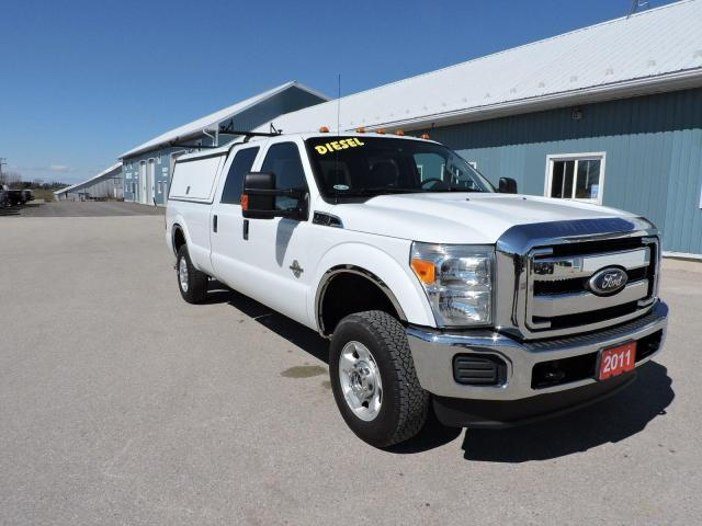 2011 Ford F-250 XLT. Diesel. 4X4. Equipped to work