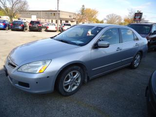 Used 2007 Honda Accord EX-L for sale in Sarnia, ON