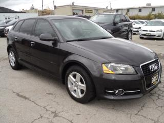 Used 2013 Audi A3 Progressiv DIESEL, LEATHER,PANORAMIC SUN ROOF for sale in Oakville, ON