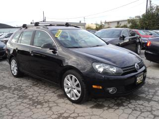 Used 2013 Volkswagen Golf Wagon PANORAMIC SUN ROOF for sale in Oakville, ON