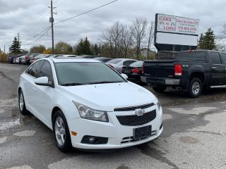 Used 2013 Chevrolet Cruze LT Turbo for sale in Komoka, ON