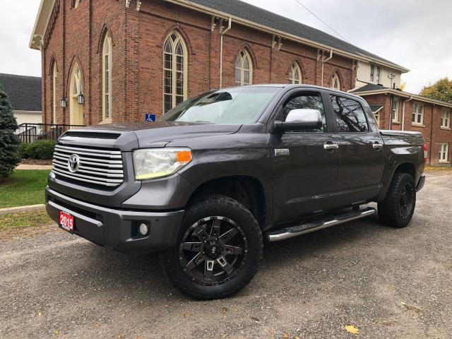 2015 Toyota Tundra PLATINUM - FULLY LOADED - CREWMAX - CERTIFIED
