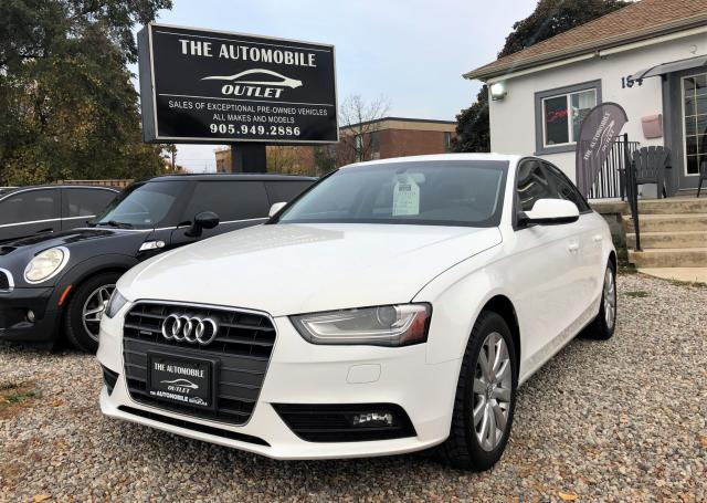 2013 Audi A4 QUATTRO AWD LEATHER SUNROOF
