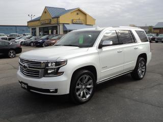 Used 2016 Chevrolet Tahoe LTZ 5.3L DVD LeatherHeatedCoolSeats BackCamNavRoof for sale in Brantford, ON