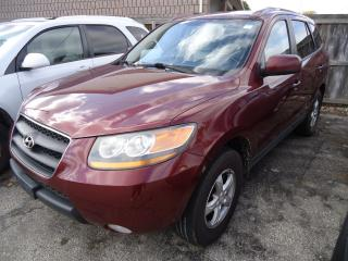 Used 2008 Hyundai Santa Fe GL 5-Pass for sale in Sarnia, ON