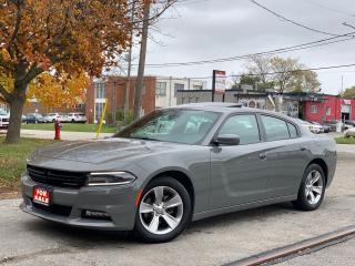 Used 2018 Dodge Charger SXT Plus Navi/RevCam/Roof/RemoteStrt/Carplay for sale in BRAMPTON, ON