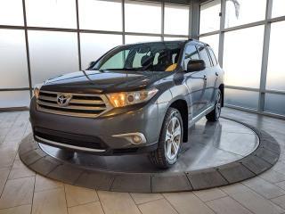 Used 2013 Toyota Highlander V6 | Leather | 2 Wheel Sets for sale in Edmonton, AB